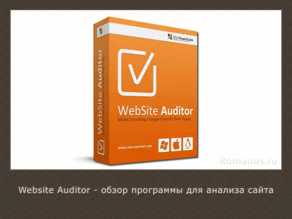 Website auditor отзывы